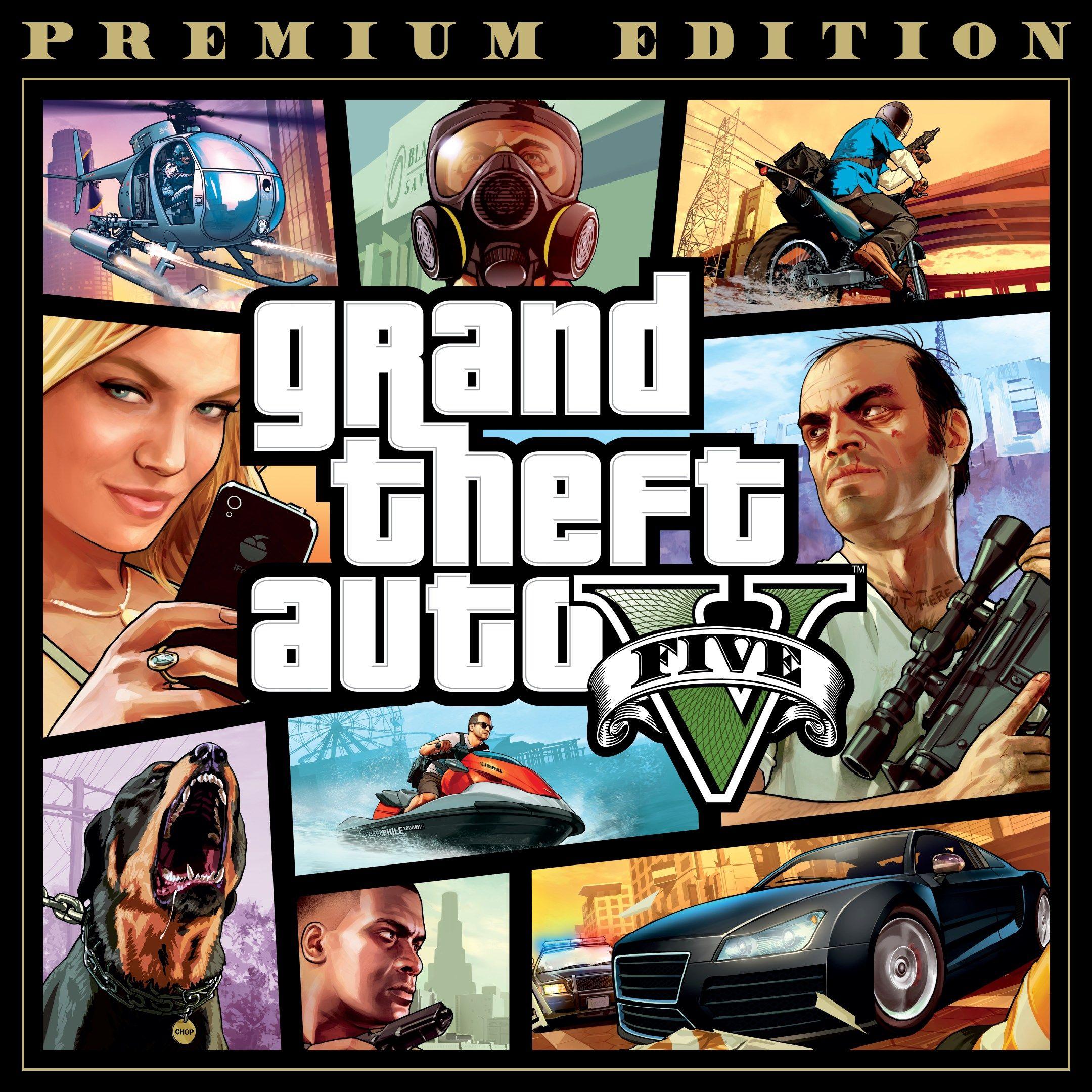 Grand Theft Auto V (GTA 5) Premium Edition (PC) kostenlos (Epic Games Store)