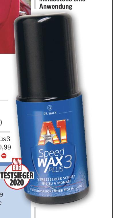 AutoBild kaufen, Dr. Wack A1 Speedwax Plus 3 (85ml) gratis bei ATU abholen