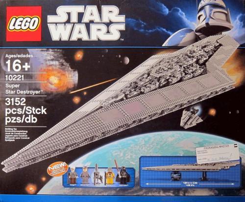 Lego - Super Sternenzerstörer 10221 (3000 Teile) KOSTENLOSER VERSAND