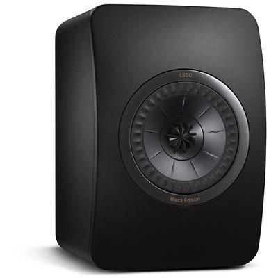 (www.hifi-schluderbacher.de) Kompaktlautsprecher KEF LS50 Black Edition (Paar) (All Black)
