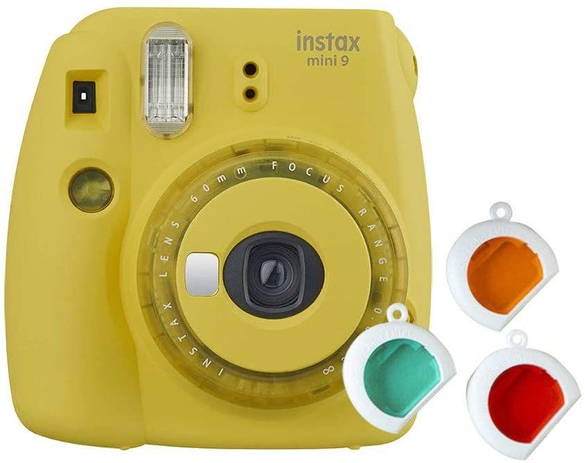Fujifilm instax Mini 9 Kamera mit Farblinsen [Amazon & Expert]