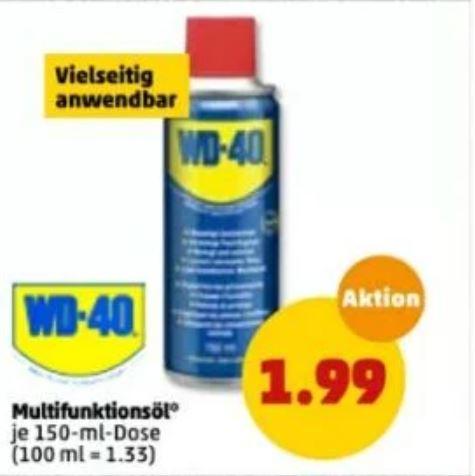 WD-40 bei Penny 150ml für 1,99