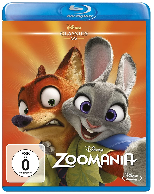 Zoomania (Disney Classics Collection Blu-ray) für 7,90€ (Amazon Prime & Dodax)