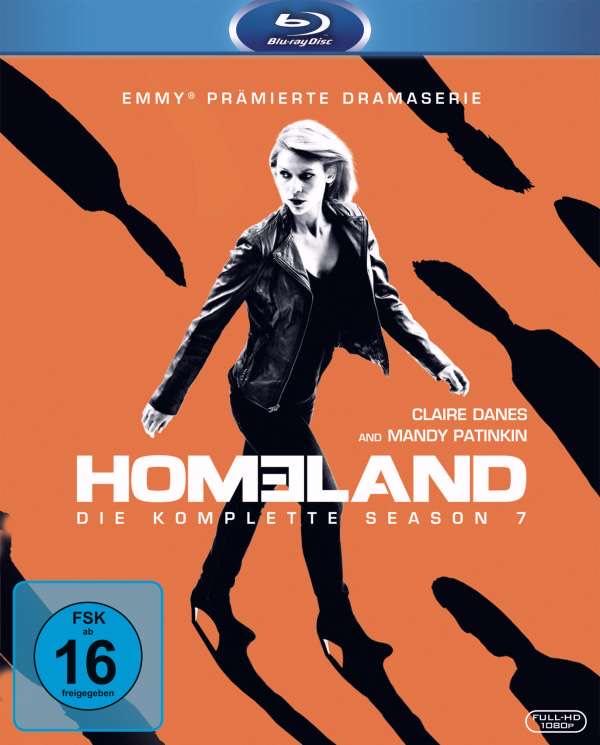 Homeland: Die 7. Staffel (Blu-ray) für 9,99€. Weitere Staffeln für 13,99€.