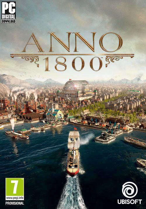 [Epic Store] ANNO 1800 Complete Edition 42,47€ (Standard Edition 19,99€ / Season Pass 1 7,49€ / Season Pass 2 14,99€)
