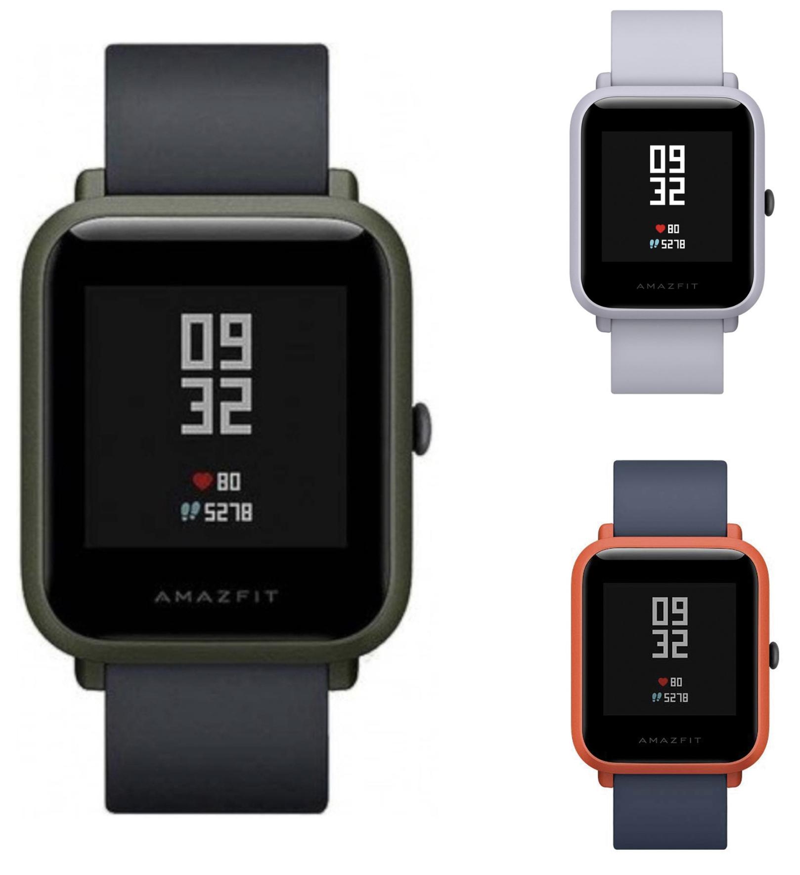 Amazfit Bip Smartwatch GPS in 3 Farben für je 41,99€