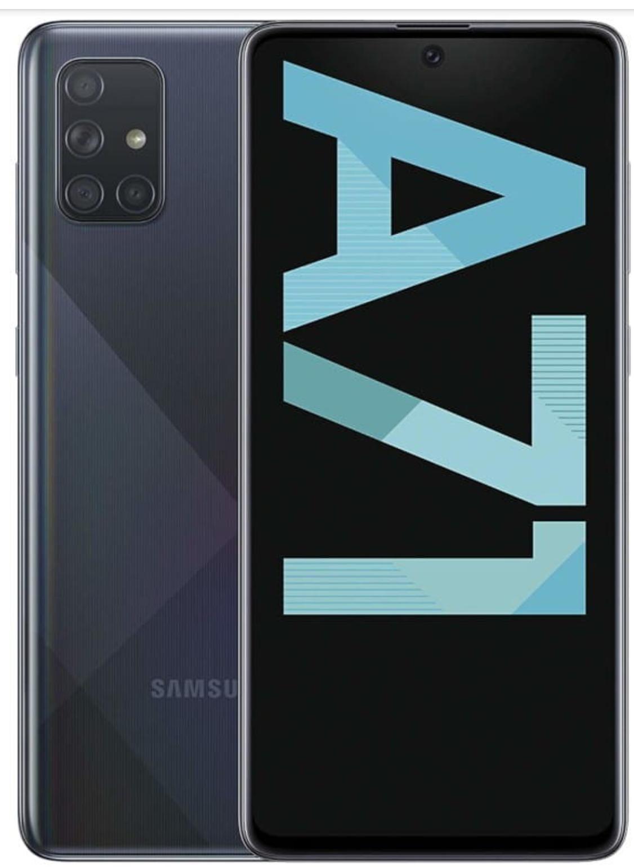 Samsung Galaxy A71 für 29€ Zuzahlung mit mobilcom debitel Vodafone green LTE (3GB LTE) für mtl. 17,99€