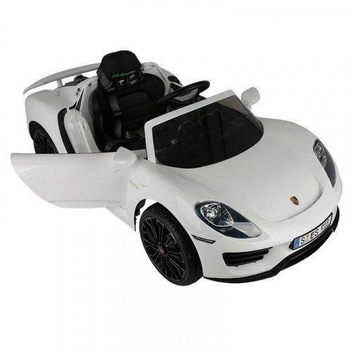 Rollplay Porsche 918 6V in weiß, durch Kundenkarte, spielemax