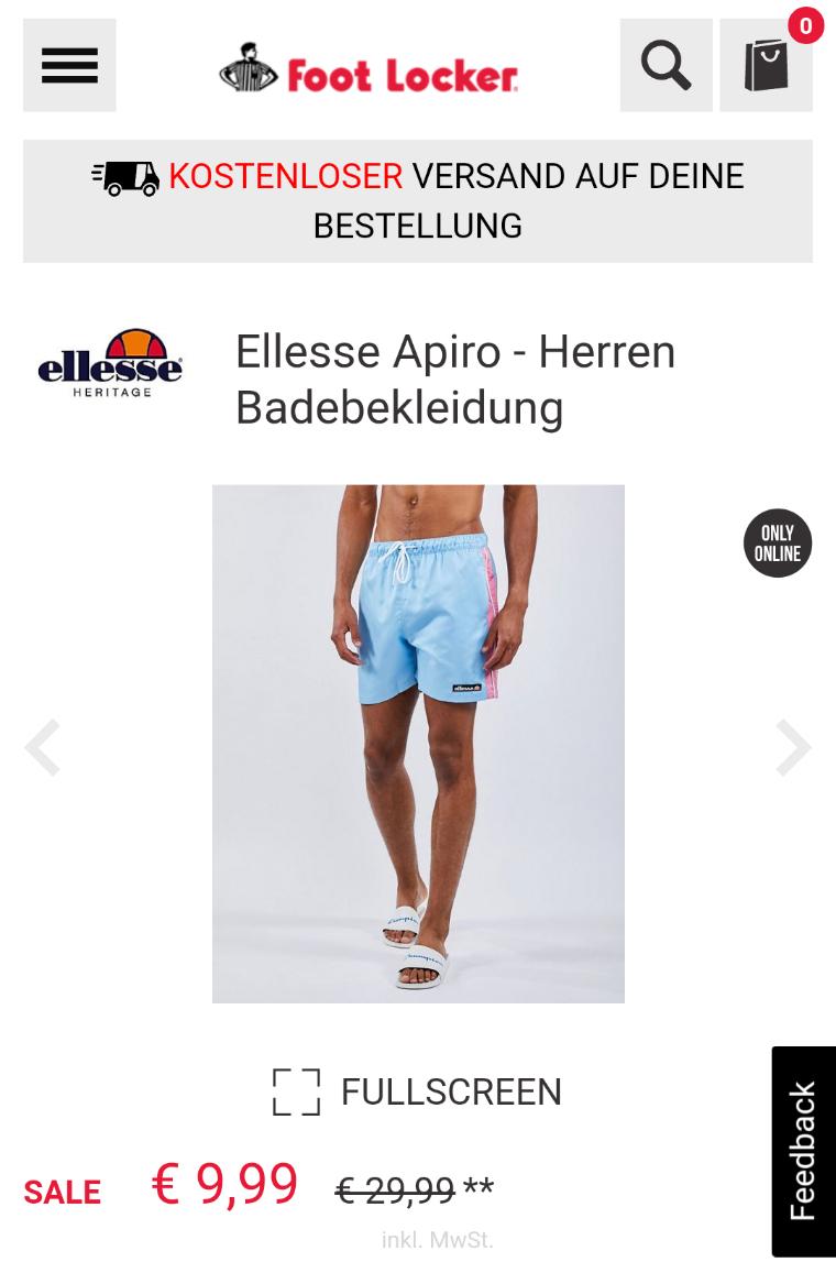 Ellesse Apiro - Herren Badebekleidung