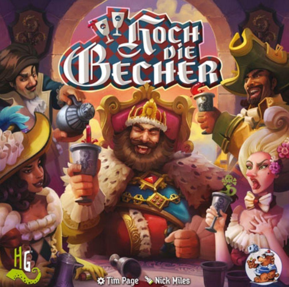 [Bestpreis] Hoch die Becher [Heidelberger Spieleverlag] - Brettspiel für 2 - 12 Leute