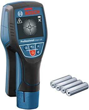 Bosch Professional Ortungsgerät D-tect 120 mit AA-Adapter