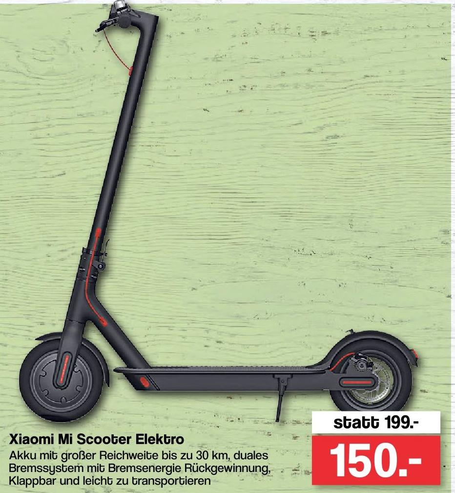 Xiaomi Mi Scooter für 150€ [famila XXL Oldenburg] - ab 25.05.