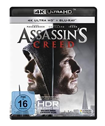 Assassin's Creed 4K (4K UHD + Blu-ray) für 13,92€ (Amazon Prime)