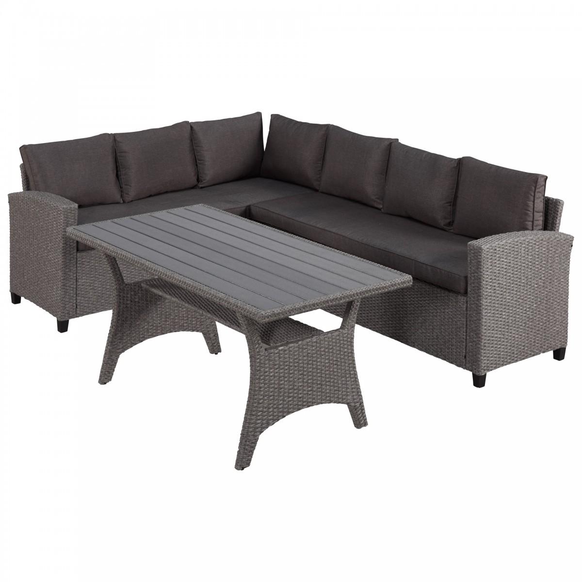 Gartenmöbel - Ecksofa Lounge Set (inkl. Versandkosten)