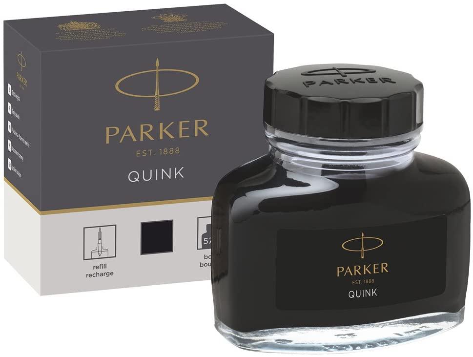 Tintenfässchen Parker Quink schwarz 57ml [Prime]