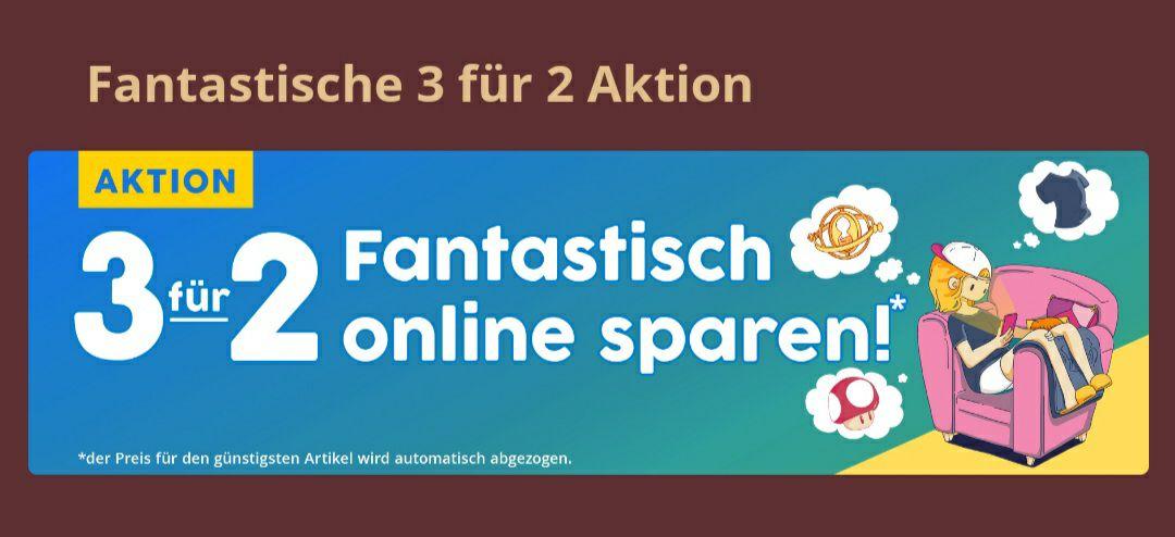[Elbenwald] 3 für 2 Online Aktion