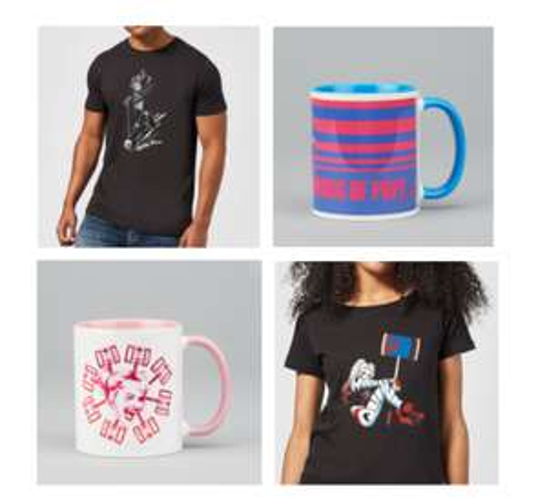 Harley Quinn Bundle T-Shirt & Tasse inkl. Versand - KInder, Damen, Herren