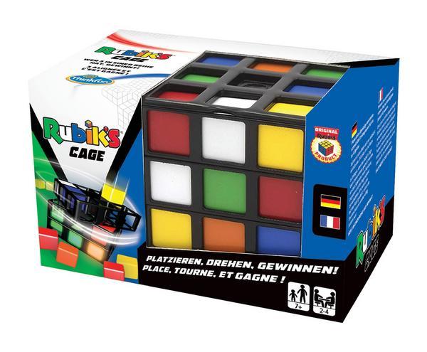 Ravensburger RubikS Cage, Strategiespiel, dreidimensionales TicTacToe für bis zu 4 Spieler ab 8 Jahren