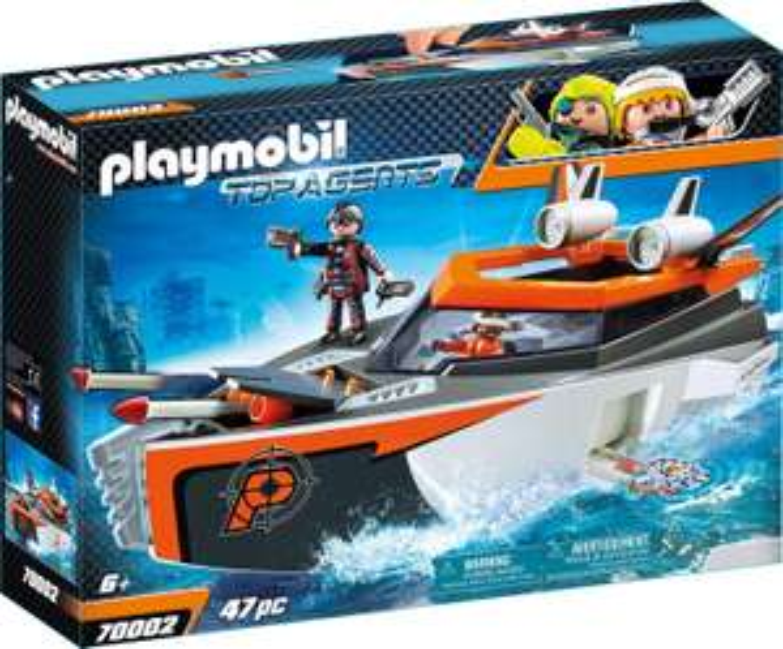 Playmobil Top Agents - Spy Team Turboship (70002) für 19,20€ (Amazon Prime & Müller Abholung)