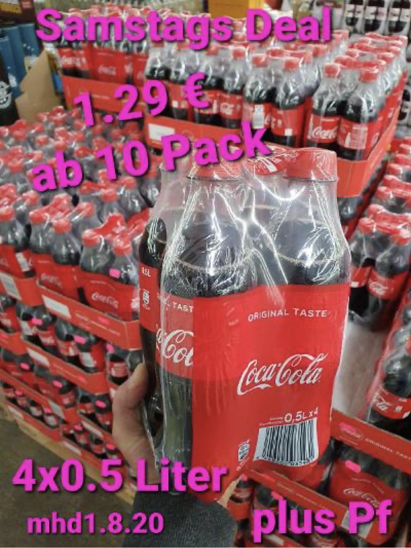 Coca Cola 40 Flaschen 0,5l (= 32 Cent pro Flasche) [LOKAL Bad Gandersheim]