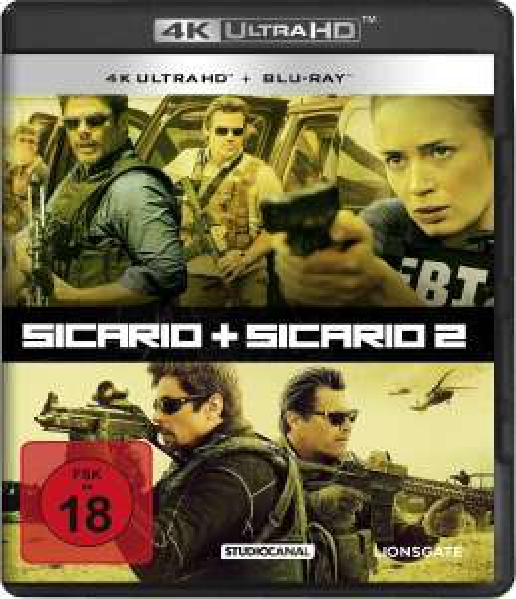 Sicario 1 & 2 4K Doppelset (4K UHD + Blu-ray) für 22,97€ (Amazon)