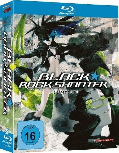 Fetter Sammeldeal z.B Black Rock Shooter - Gesamtausgabe [Blu-ray] [Amazon Prime]