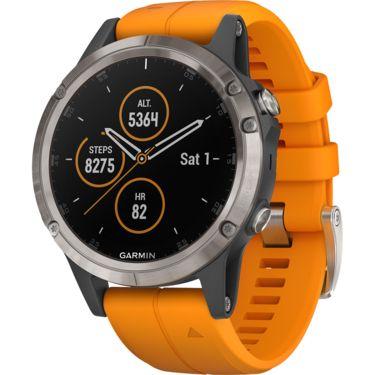 Garmin Fenix 5 Plus in der Saphire Titan Version plus kostenloses schwarzes Armband - go for it ;-)