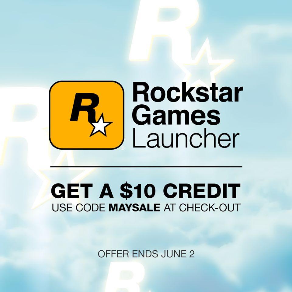 Rockstar Games im Launcher 10€ Gutschein