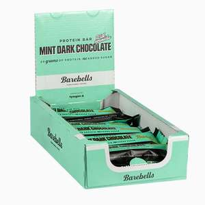 Body & Fit - Barbells - PROTEIN BAR CHOCOLATE MINT (Haltbarkeitsdatum 20/05/2020)