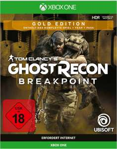 Tom Clancy's Ghost Recon: Breakpoint (Gold Edition) - Xbox One (Coolshop)