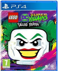 LEGO DC Super-Villains Deluxe Edition (inkl. Lego Figur & Season Pass) (PS4/Xbox)