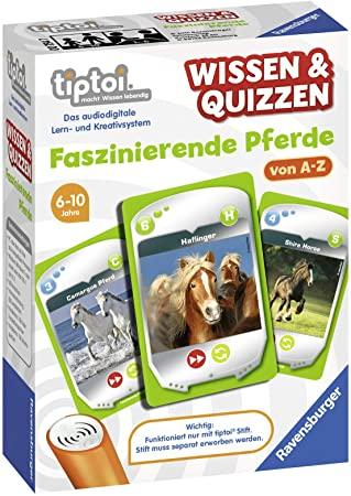 Ravensburger tiptoi Wissen und Quizzen Faszinierende Pferde Spiel | Amazon Prime