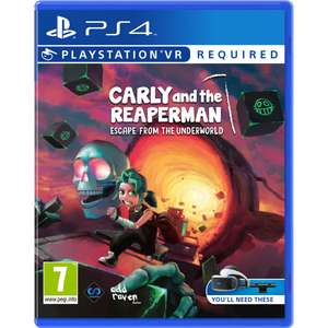Carly And The Reaperman: Escape From The Underworld (PS4 VR) für 13,58€ (Base.com)