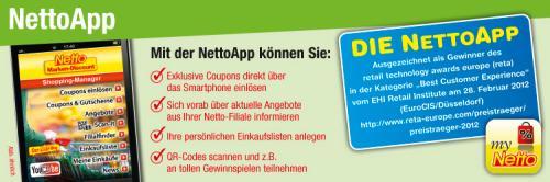 Netto App ! Coupons & Gutscheine werden mobil