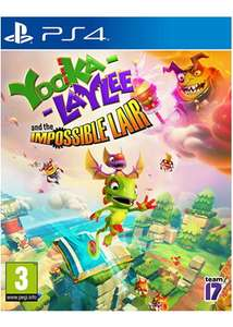 Yooka -Laylee and the Impossible Lair (PS4) für 15,80€ (Base.com)