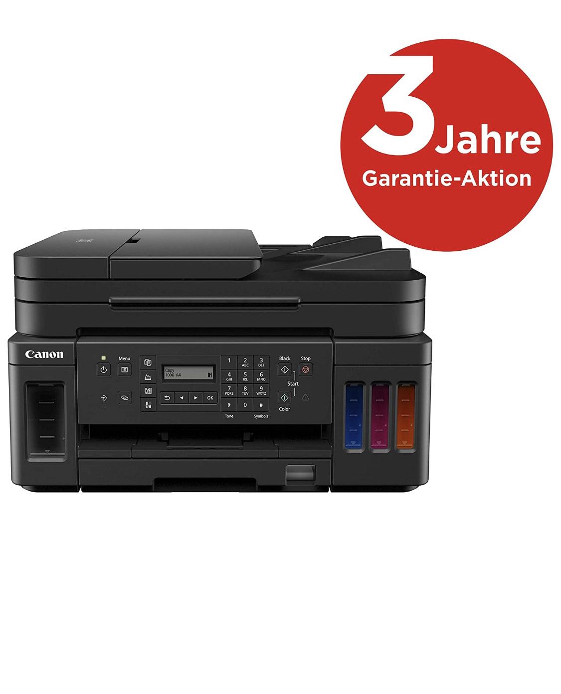 Canon PIXMA G7050 - Tintenstrahldrucker mit Tintentanks und Scanfunktion