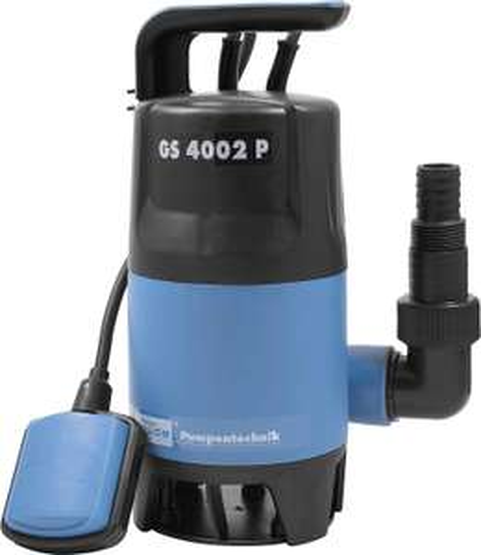 [Amazon Prime] Schmutzwasserpumpe Güde GS 4002 P Tauchpumpe, 35mm Partikel, 400W, IPX8, 7500l/h, 10m Kabel! Schmutzwassertauchpumpe