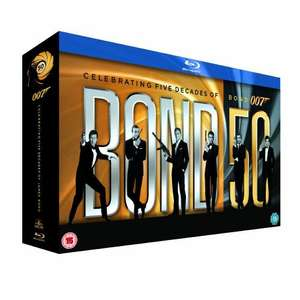 The Complete James Bond Collection für 99,35 Euro( UK Box) @ Hut.com