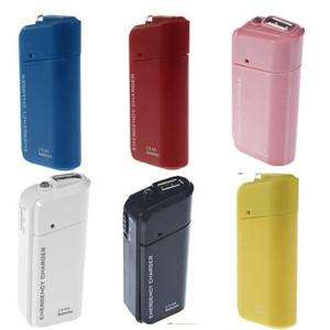 Portable AA External Battery Emergency USB Charger
