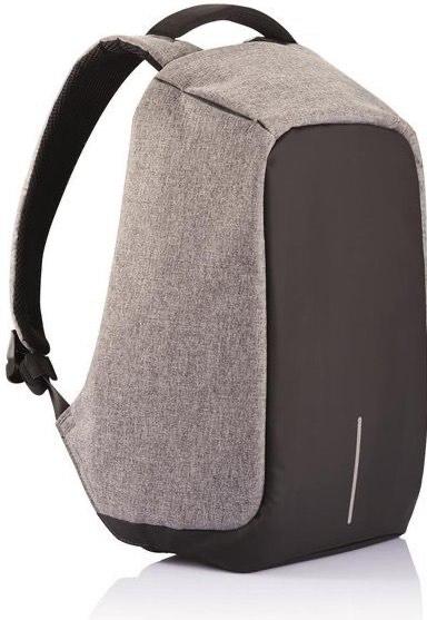 XD Design Bobby Original Anti-Diebstahl Laptop Rucksack mit USB (Unisex) Grau