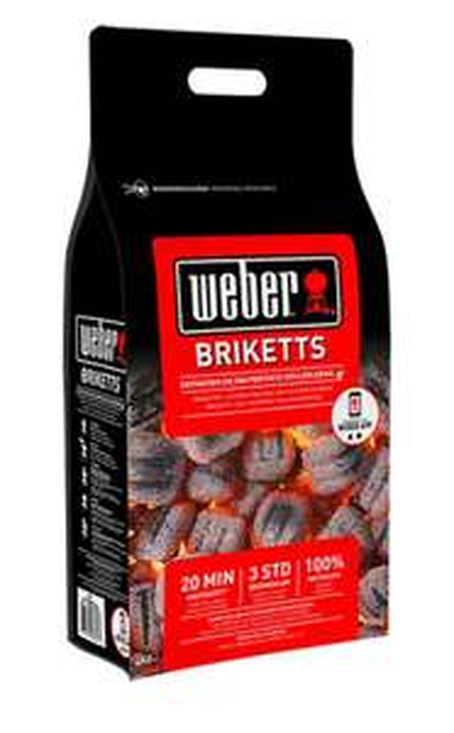 WEBER GRILL BRIKETTS 8 KG