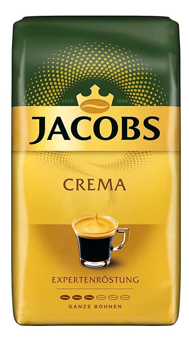 Jacobs Kaffeebohnen Expertenröstung Crema, 1 kg Bohnenkaffee Prime
