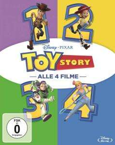 Toy Story (1-4) Collection (Blu-ray) für 26,997€ (Amazon Prime & Müller Abholung)