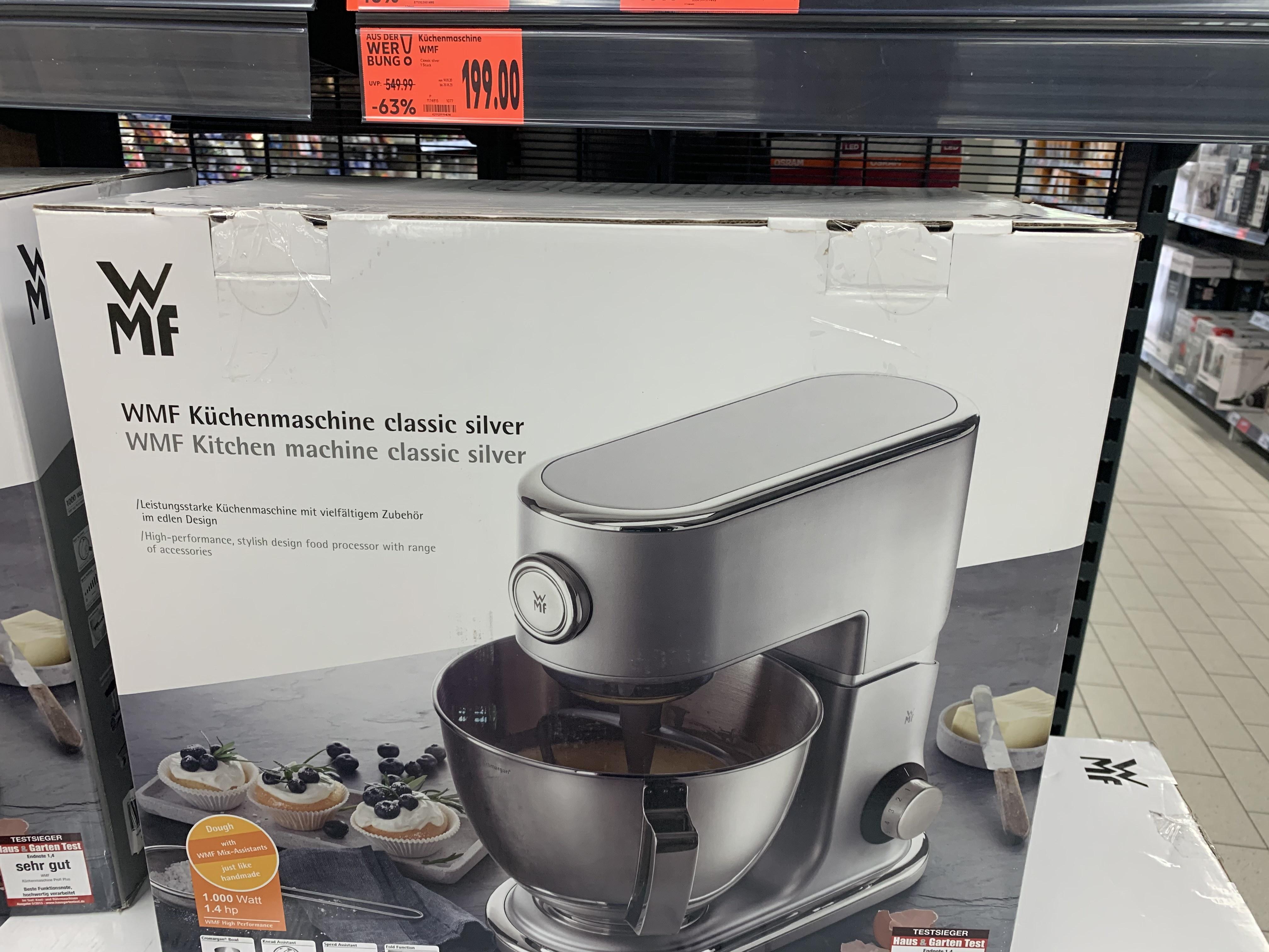 WMF Küchenmaschine Classic Silver ( Lokal )
