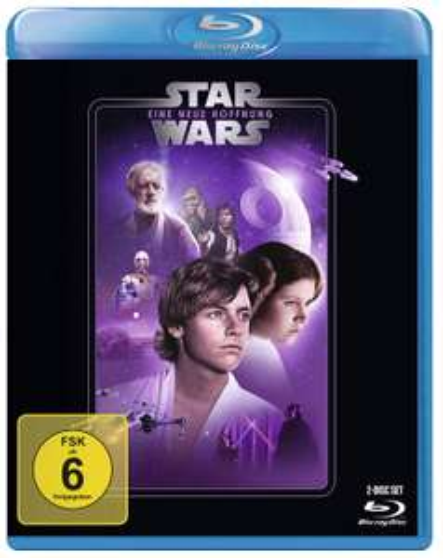 Star Wars: Episode 4 - Eine neue Hoffnung (2 Discs Blu-ray) für 8,76€ (Amazon Prime & Müller Abholung)