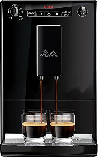 [Amazon] Melitta Caffeo Solo E 950-222 Kaffeevollautomat pure black (ohne Milchfunktion)