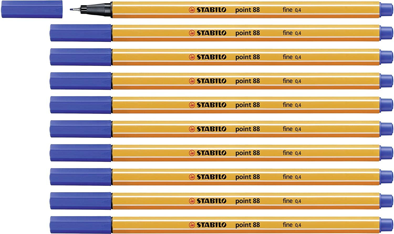 10x Stabilo Fineliner blau für 3,05€ inkl. Versand mit Prime
