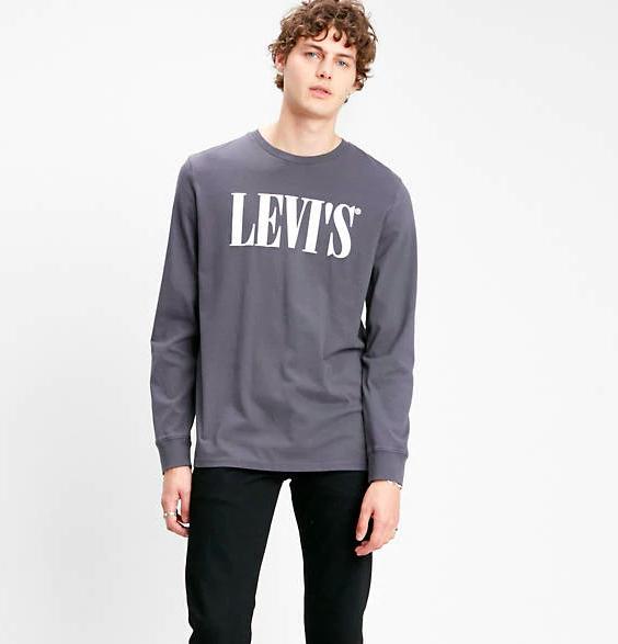 Nur heute: Diverse Levi's T-Shirts (Land- & Kurzarm) für Sie und Ihn für 13,50€ - versandkostenfrei