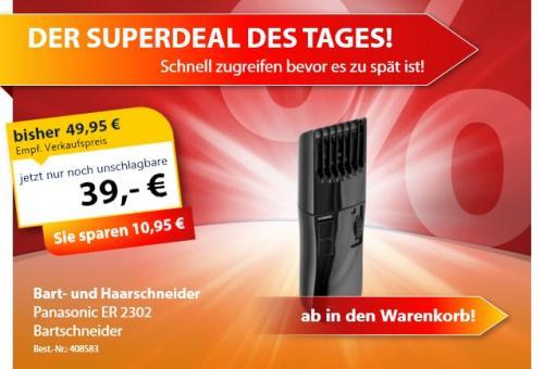 Panasonic ER 2302 Bartschneider für 39€ inkl. VSK