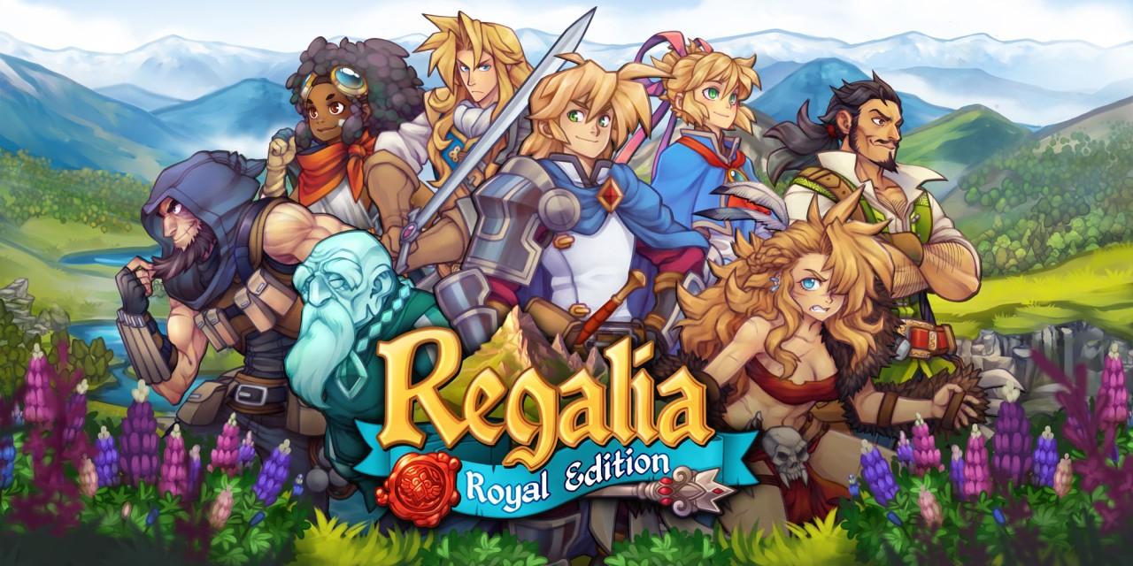 Regalia: Of Men and Monarchs - Royal Edition für Switch in Nintendo eShop für 3,74 EURO statt 24,99 EURO